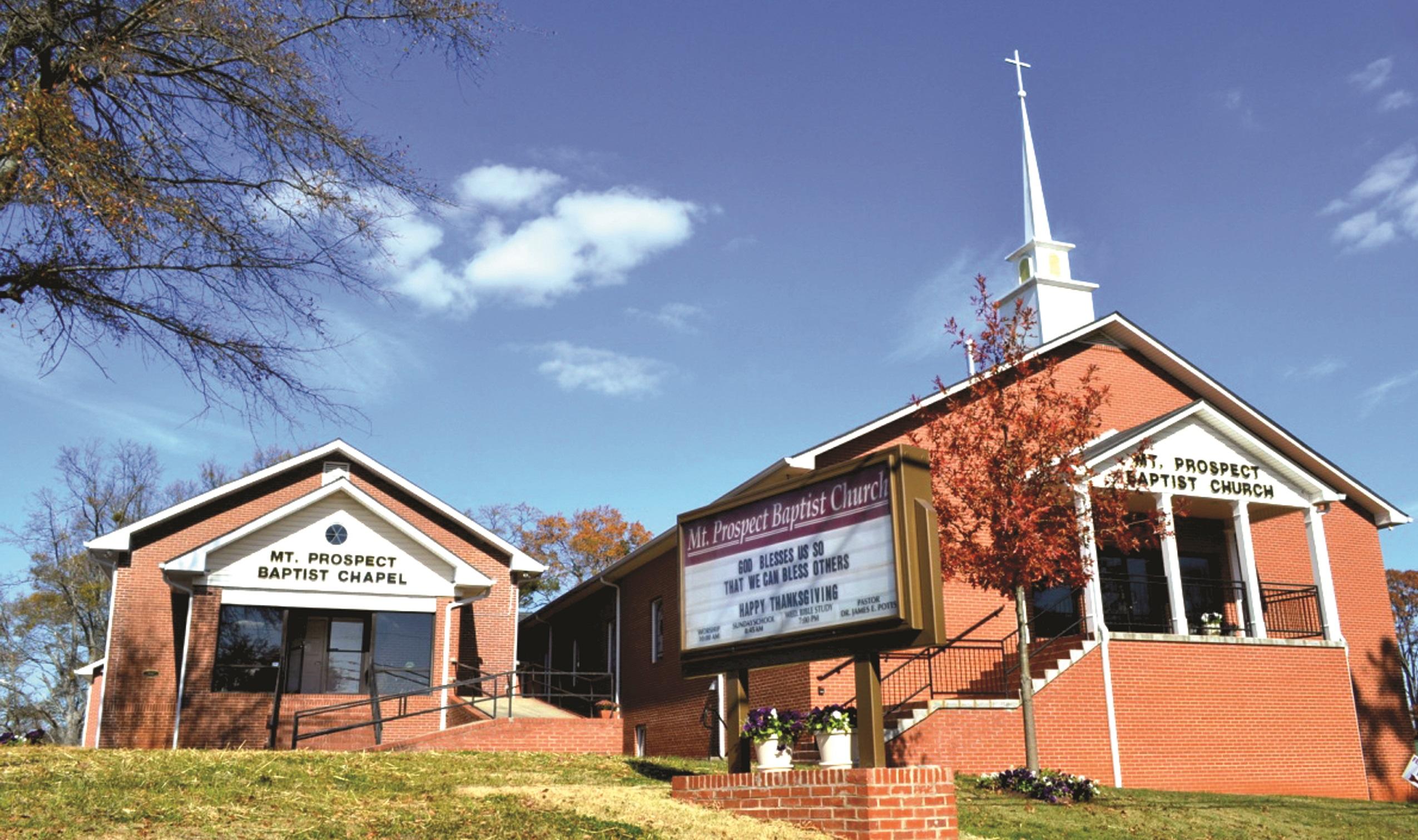 Mt Prospect Baptist Church 133 Thomas Dorsey Dr, Villa Rica