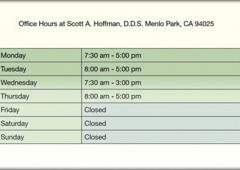 Scott Hoffman DDS - Menlo Park, CA