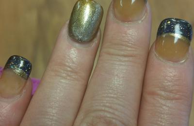 Diamond Nail Spa - Fulton, NY. Nails turned yellow