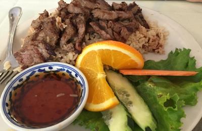 Thai House Restaurant - Fairbanks, AK. Barbecue beef!
