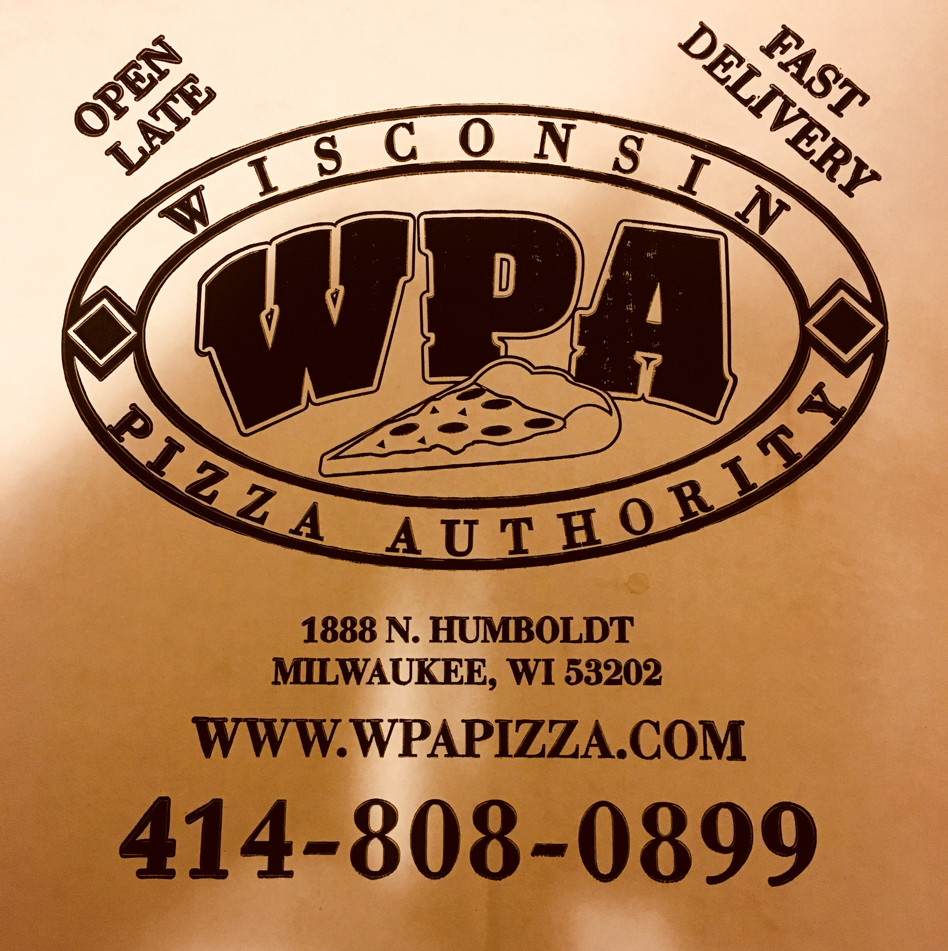 Wisconsin Pizza Authority 1888 N Humboldt Ave, Milwaukee