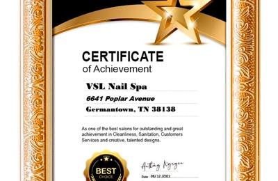 Vsl Nail Spa - Germantown, TN