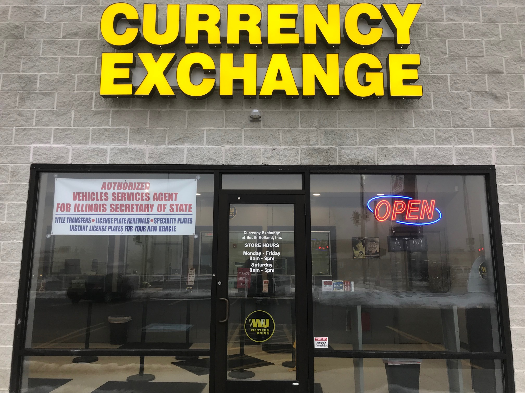 Currency Exchange Of South Holland Inc