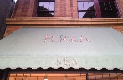 Flicka Children's Clothing Boutique - Los Angeles, CA. Signage