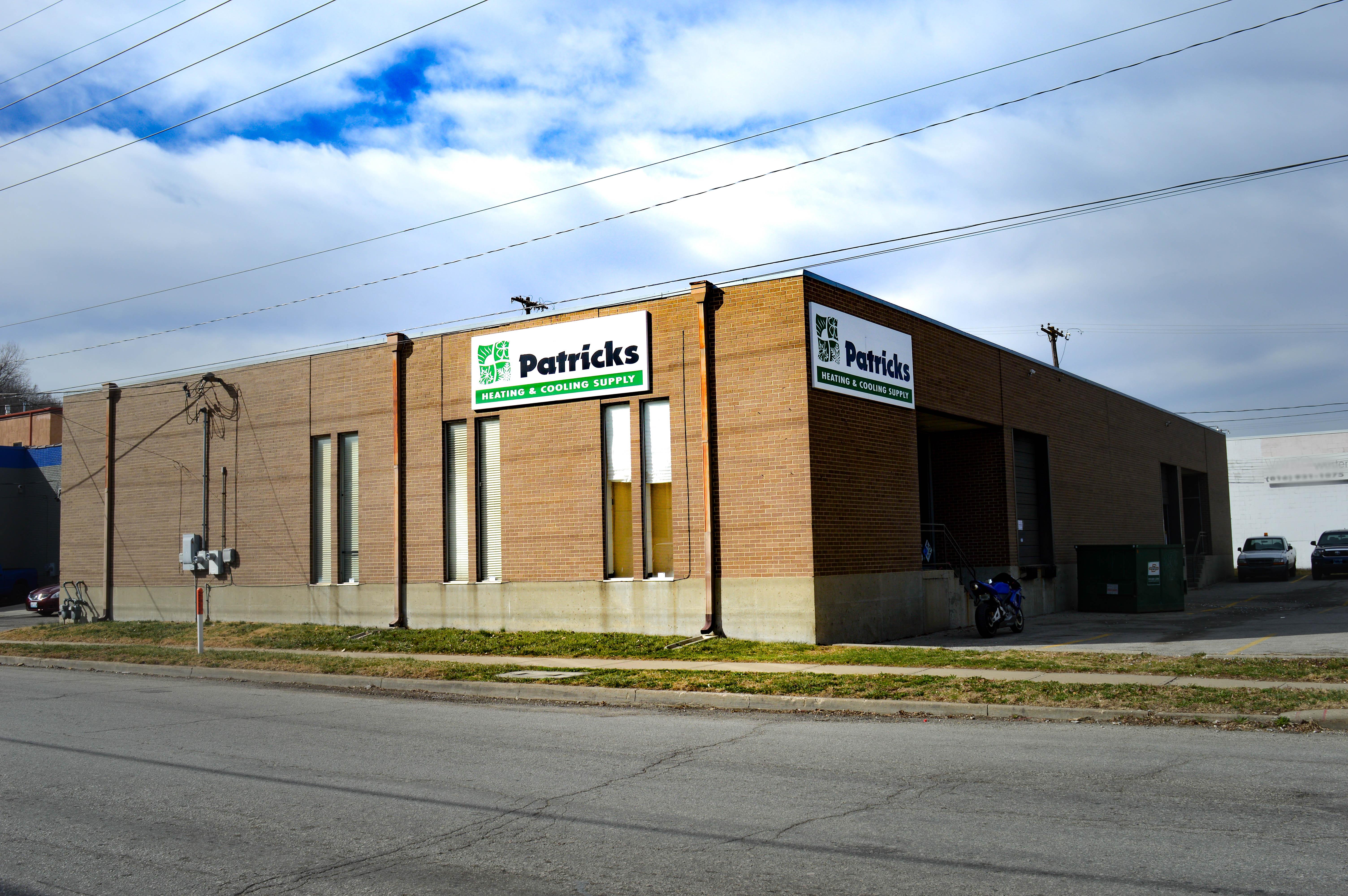 Patrick's Heating & Cooling Supply 1625 W 31st St, Kansas