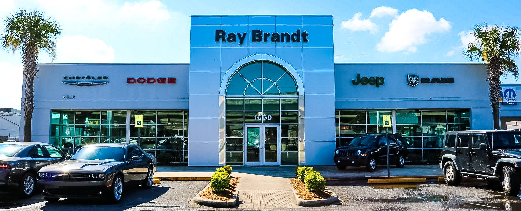 Ray Brandt Dodge >> Ray Brandt Chrysler Dodge Jeep 1660 Westbank Expy Harvey La 70058