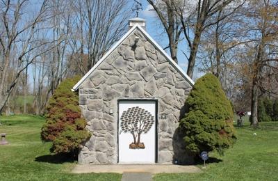 Woodside Pet Cemetery - Navarre, OH. chapel at Woodside
