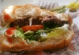 The Habit Burger Grill - Glendale, CA. Charburger with swiss cheese