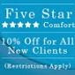 Five Star Comfort
