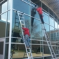 Fish Window Cleaning. At New Berlin West High School