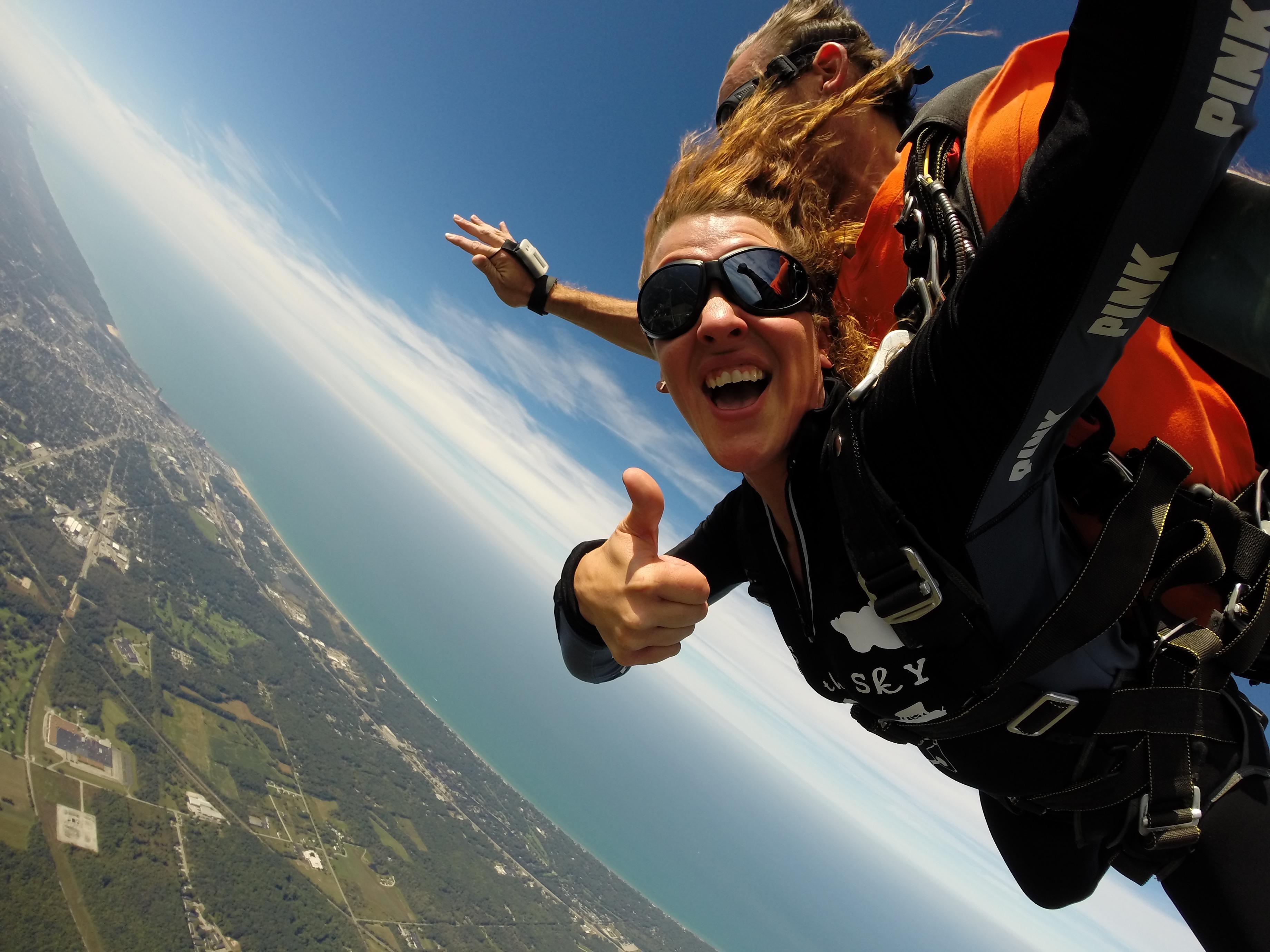 Skydiving coupons michigan