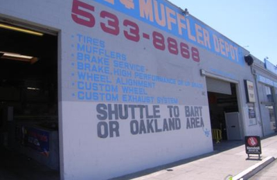 Tires & Mufflers Depot - Oakland, CA