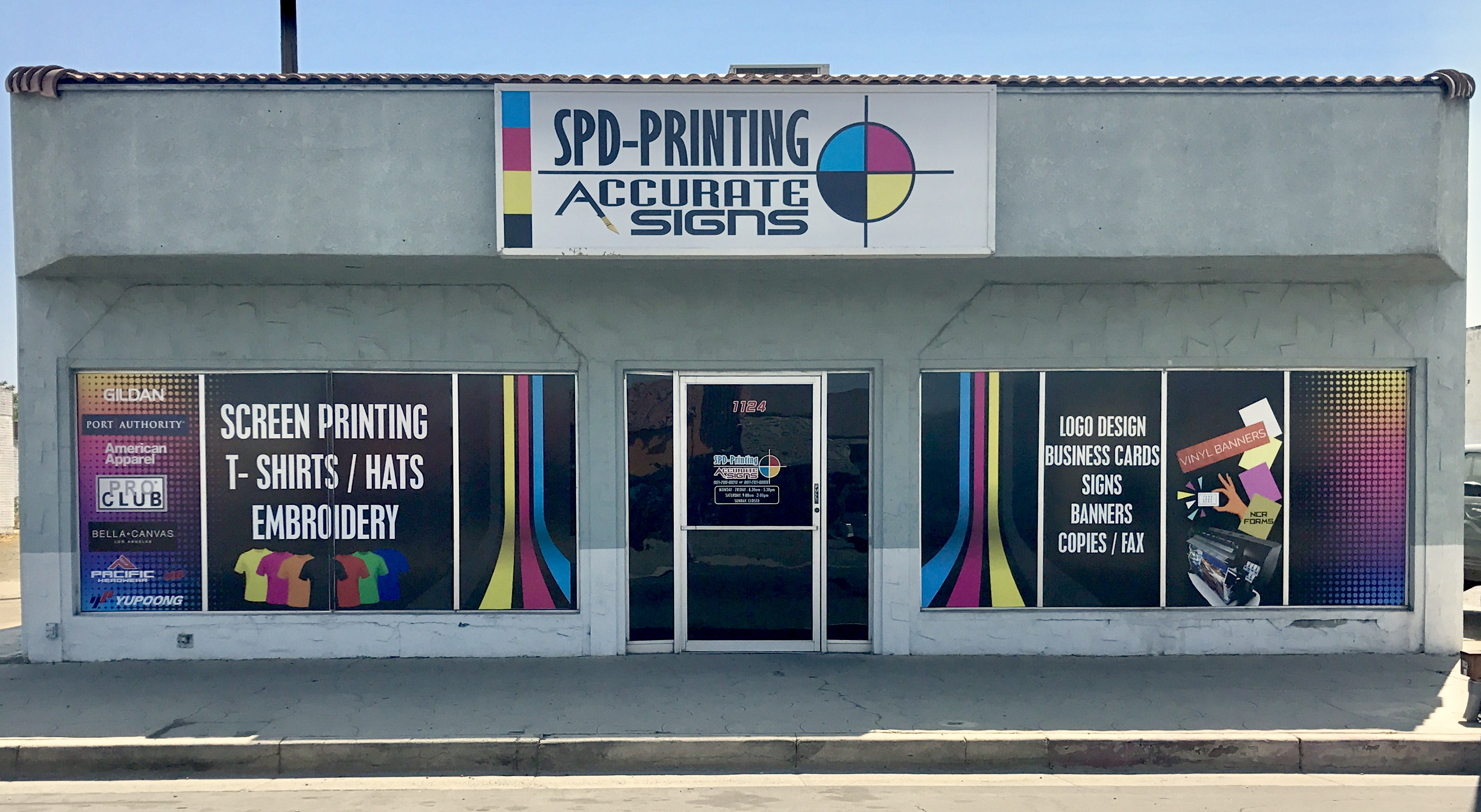Spd printing accurate signs 1124 high st delano ca 93215 yp com