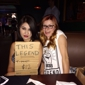 Sandrini's Restaurant - Bakersfield, CA. I'll buy a shirt from these ladies any day :)