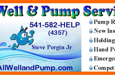 All Well And Pump Service - Grants Pass, OR