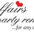 Affairs Party Rental
