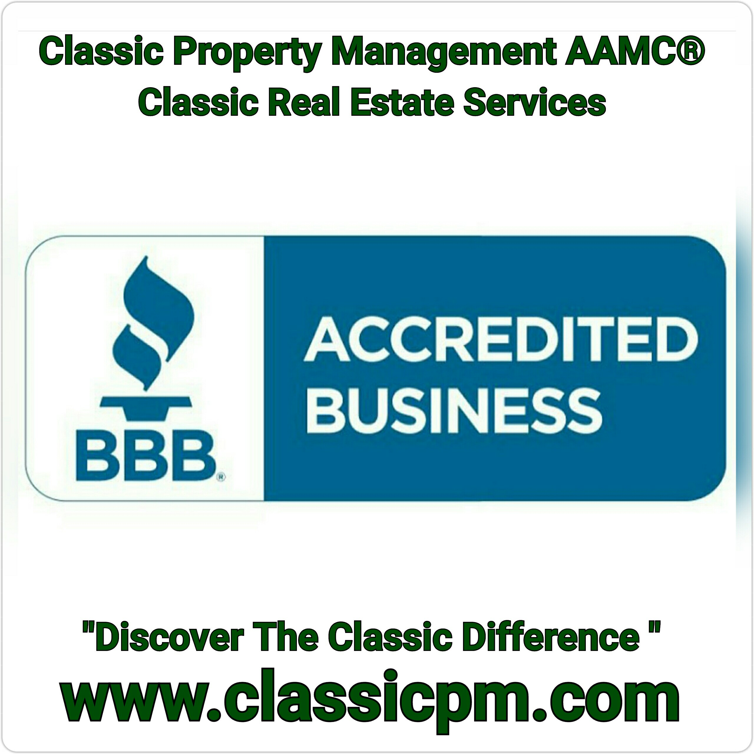 Classic property management aamc classic real estate for Classic homes realty