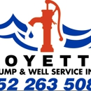 Boyette pump and well service inc.