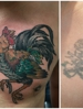 Cover up done by Zach