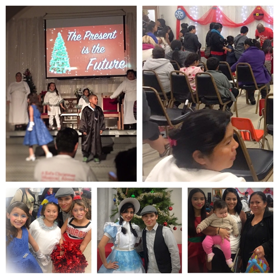 """First Southern Baptist Church of Hollywood - Los Angeles, CA. Free community event. Our Christmas play 2016. """"The present is the future"""". A kid's musical about the gift of hope."""