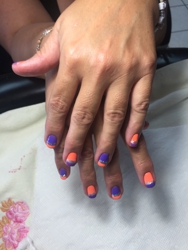 Best Nails ever ! Tiffany at Nails Tran performed her artwork on me this is a great place to get your nails done