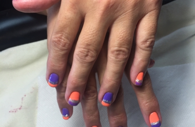 Nails Tran - San Antonio, TX. Best Nails ever ! Tiffany at Nails Tran performed her artwork on me this is a great place to get your nails done