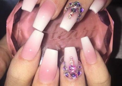 Nv Nails & Spa - Branson, MO. My name Lisa and this is my work you can call test Ostrom up phone number and appointment with me I can make your nails look fabulous