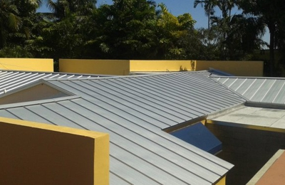 Roofer Mike Inc - Miami Springs, FL. Englert 1101 Standing Seam Metal Roof in Miami, Fl