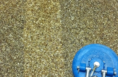 Daval Building Maintenance & Carpet Cleaning - Hanford, CA. Aggregate floor