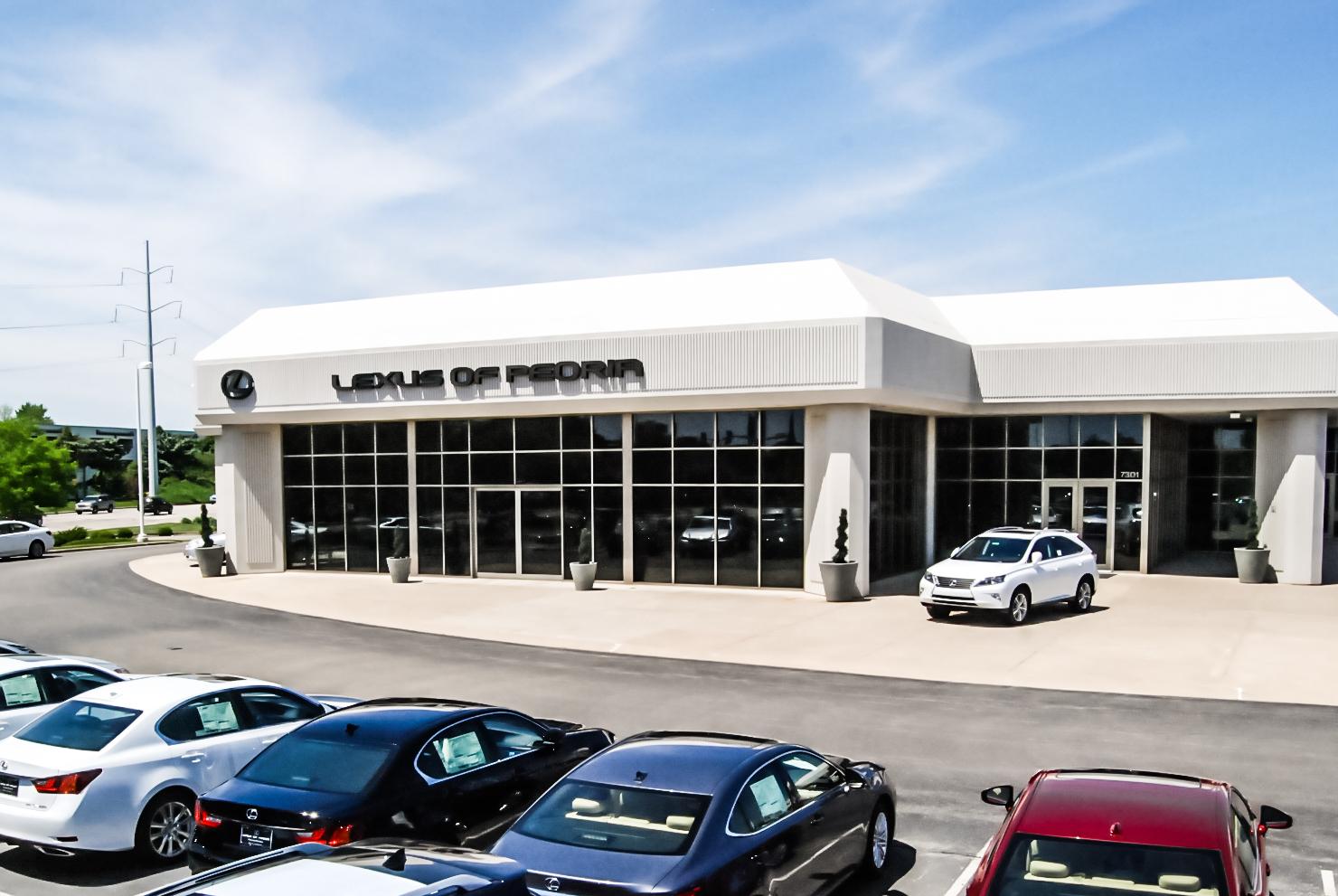 Lexus Of Peoria 7301 N Allen Rd Peoria Il 61614 Yp Com