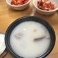 Han Bat Shul Lung Tang - Los Angeles, CA. Ox bone soup