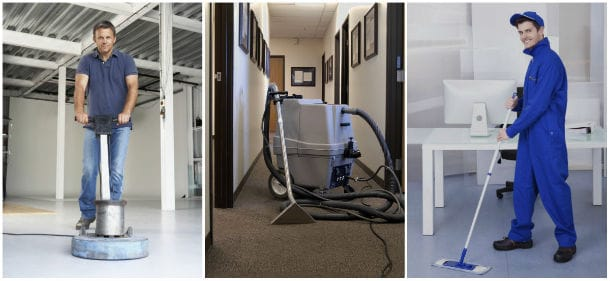 Office Cleaning by Professional Janitorial Crews