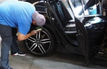 Dressing the tires