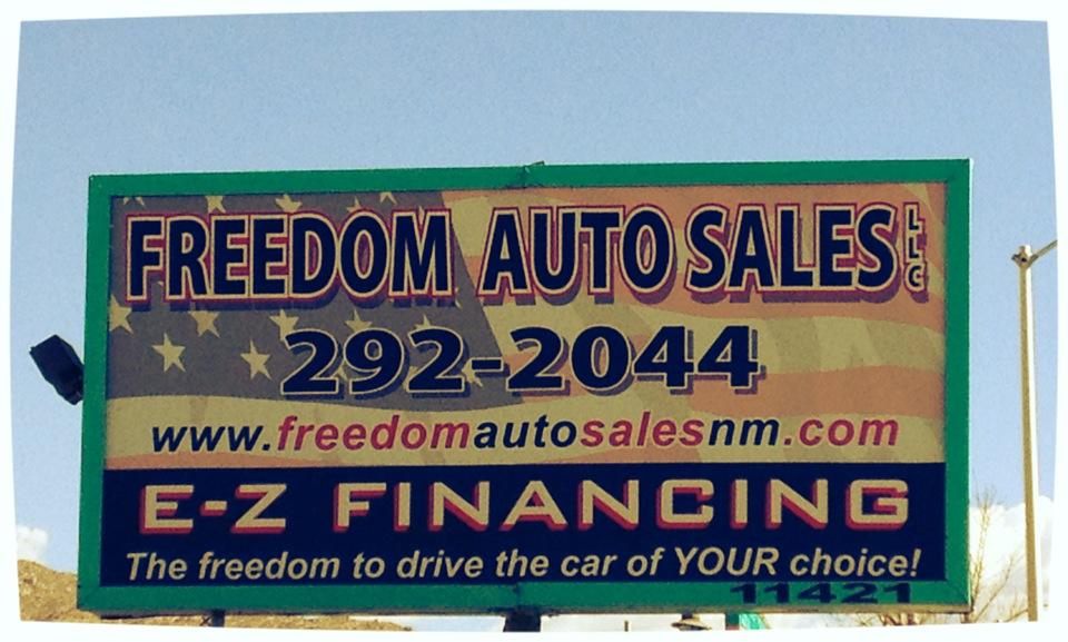Freedom Auto Sales >> Freedom Auto Sales 11421 Central Ave Ne Albuquerque Nm