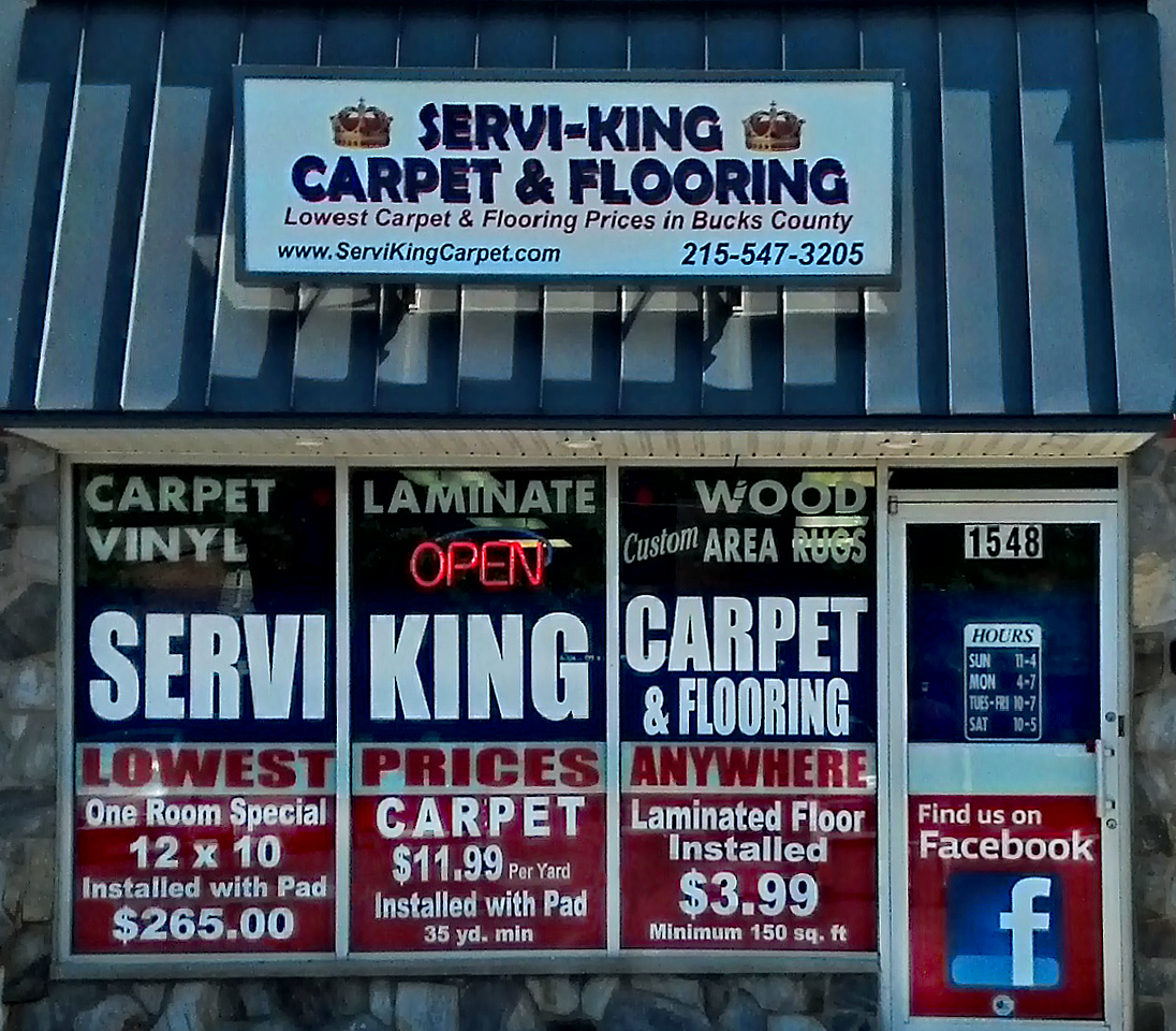 Servi-King Carpet & Flooring 1548 Haines Rd, Levittown, PA 19055 - YP.com