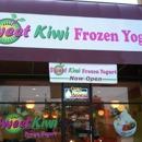 Sweet Kiwi Frozen Yogurt