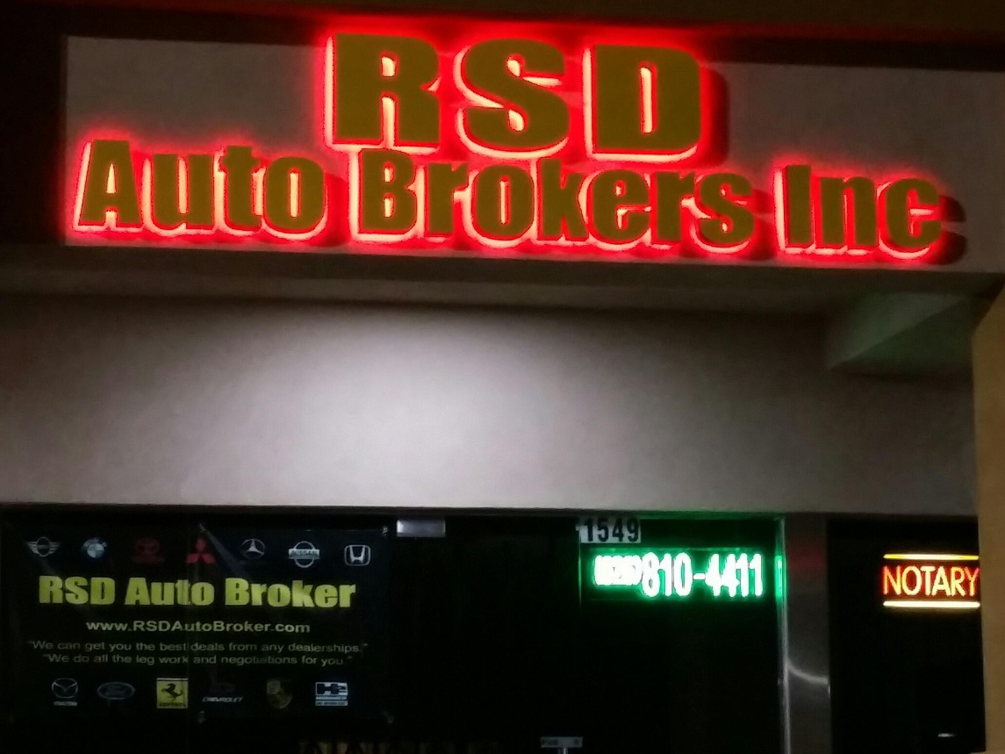 Rsd Auto Broker 2550 E Amar Rd Unit A 10 West Covina Ca 91792 Yp