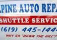 Alpine Auto Repair - Alpine, CA