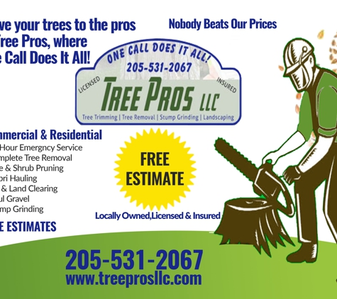 Tree Pros LLC - Remlap, AL
