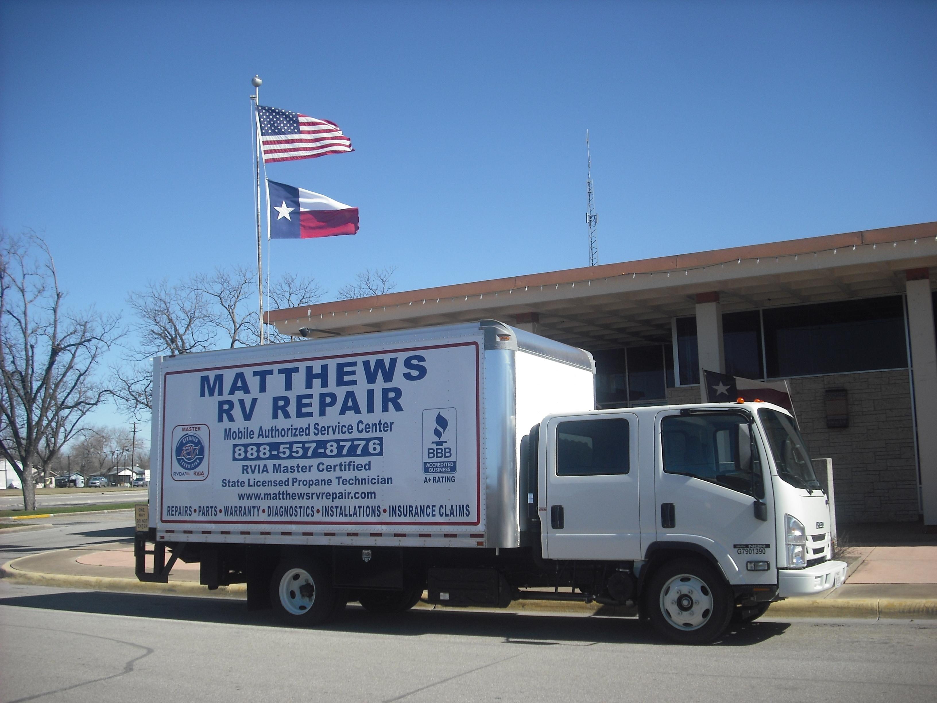 Matthews RV Repair LLC 410 County Road 743 Yancey TX YP