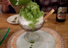 Matsuhisa - Beverly Hills, CA. Green Tea Shave Ice