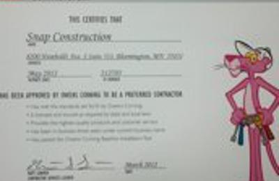 Snap Construction Inc. - Minneapolis, MN