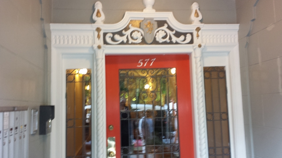 Neals painting - Fairfield, CA. Decorative entry