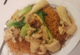 Hop Li Seafood Restaurant 62713 - Los Angeles, CA. House Special Pan Fried Noodles (crispy!)