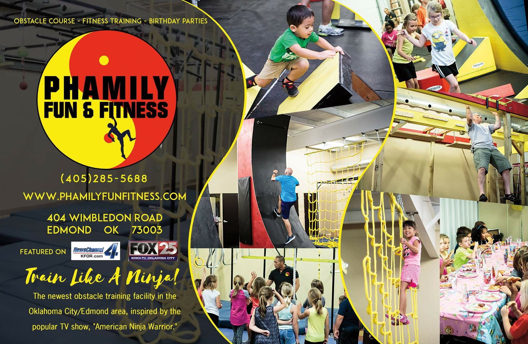 Phamily Fun Fitness 404 Wimbledon Rd Edmond OK 73003 YPcom