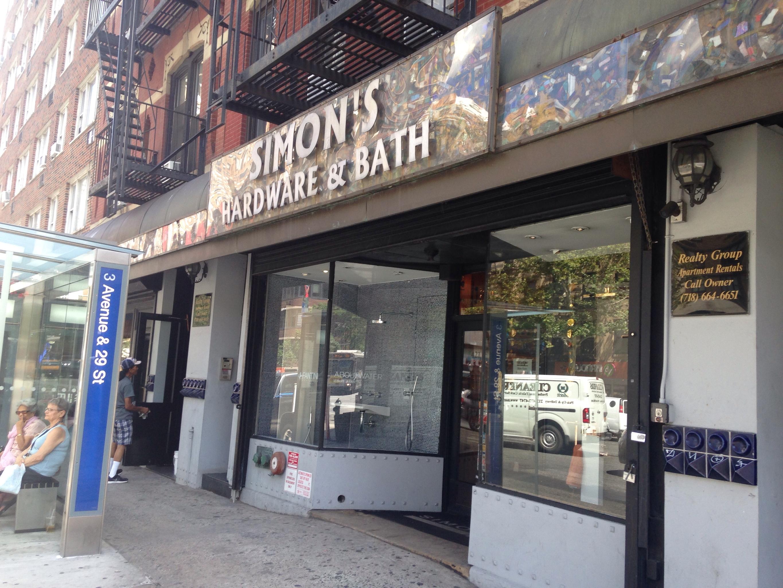 Simon S Hardware Bath 421 3rd Ave Frnt 1 New York Ny
