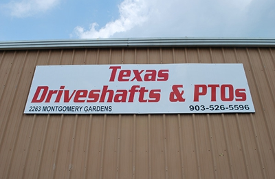 Texas Driveshafts and PTOs - Tyler, TX