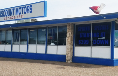 Discount Motors 5 - Fort Worth, TX. Fort Worth - Jacksboro Hwy. - Sales 1301 Jacksboro HWY, Fort Worth TX 76114 817-624-7711