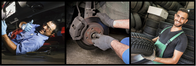 Tires, Suspension, Brakes in San Diego