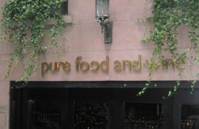 Pure Food & Wine - New York, NY